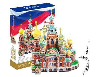 CUBIC FUN 3D puzzle Chrám Spasitele v krvi Petrohrad