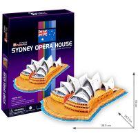 CubicFun Puzzle 3D Opera v Sydney 58 dielikov