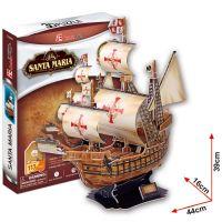 CUBIC FUN 3D puzzle Santa Maria 113 ks