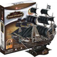 CUBIC FUN 3D puzzle Plachetnice Queen Anne's Revenge 2