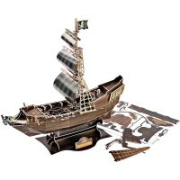 CUBIC FUN 3D puzzle Plachetnice Queen Anne's Revenge 5