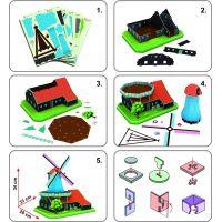 Cubic Fun 3D puzzle Holandský větrný mlýn 71 dílků 2