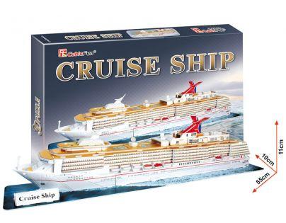 CUBIC FUN 3D puzzle Výletní loď