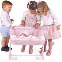 DeCuevas Novorodenecká postieľka pre bábiky s funkciou spoločného spania Magic Maria 2020 4
