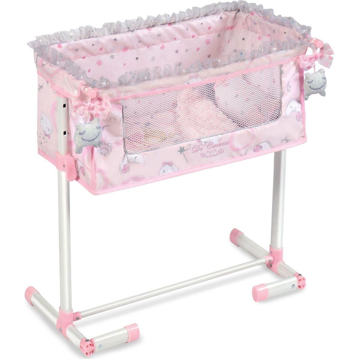 DeCuevas Novorodenecká postieľka pre bábiky s funkciou spoločného spania Magic Maria 2020