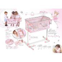 DeCuevas Novorodenecká postieľka pre bábiky s funkciou spoločného spania Magic Maria 2020 2