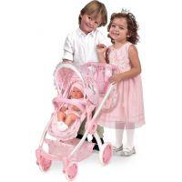 DeCuevas 80534 Skladacia kočík pre bábiky 3 v 1 s batôžkom Magic Maria  2020 - 70 cm 4