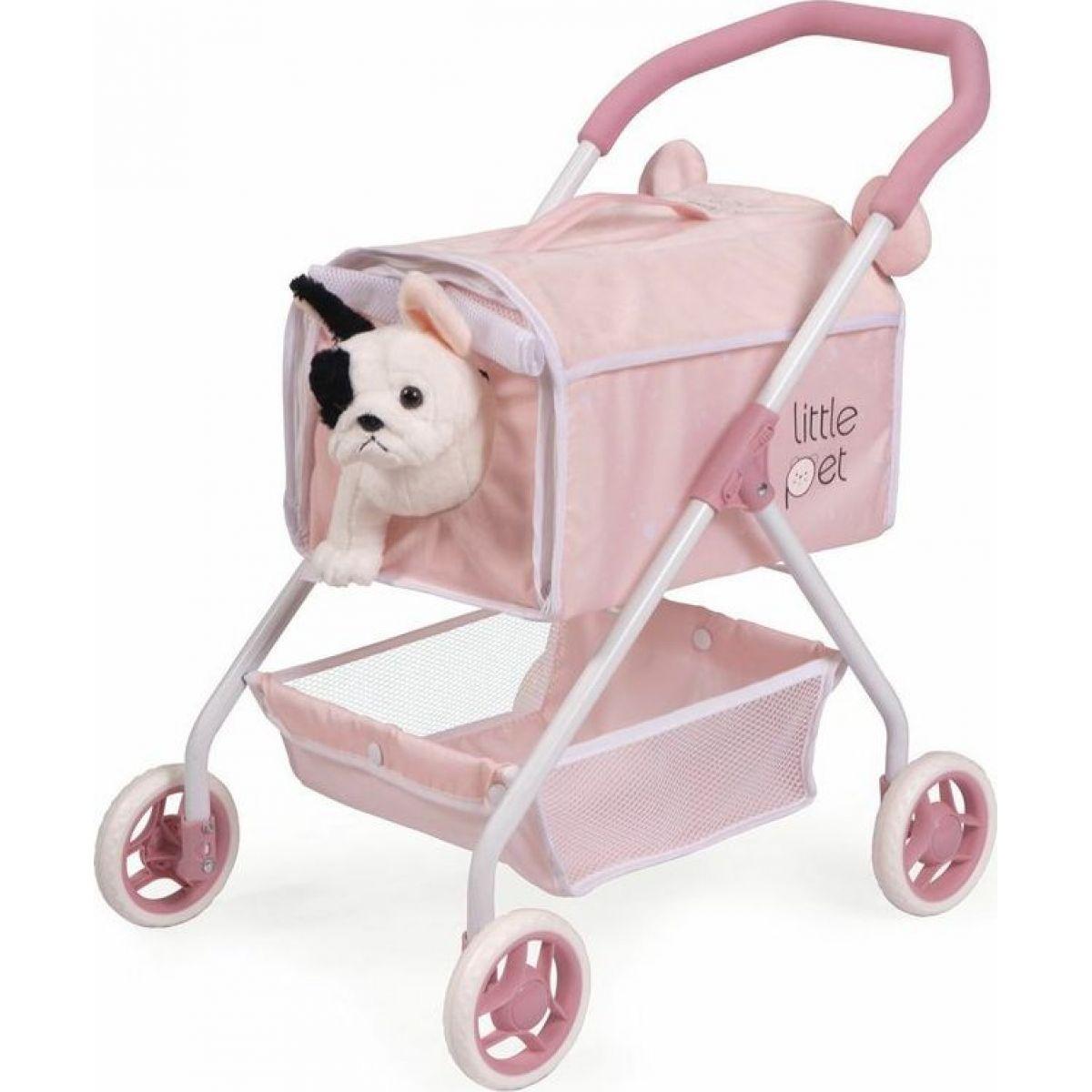 DeCuevas 86139 Môj prvý kočík pre psíka s doplnkami Little Pet 2020 - 56 cm