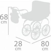 DeCuevas Kočík pre bábiky hlboký Martina 2020 6