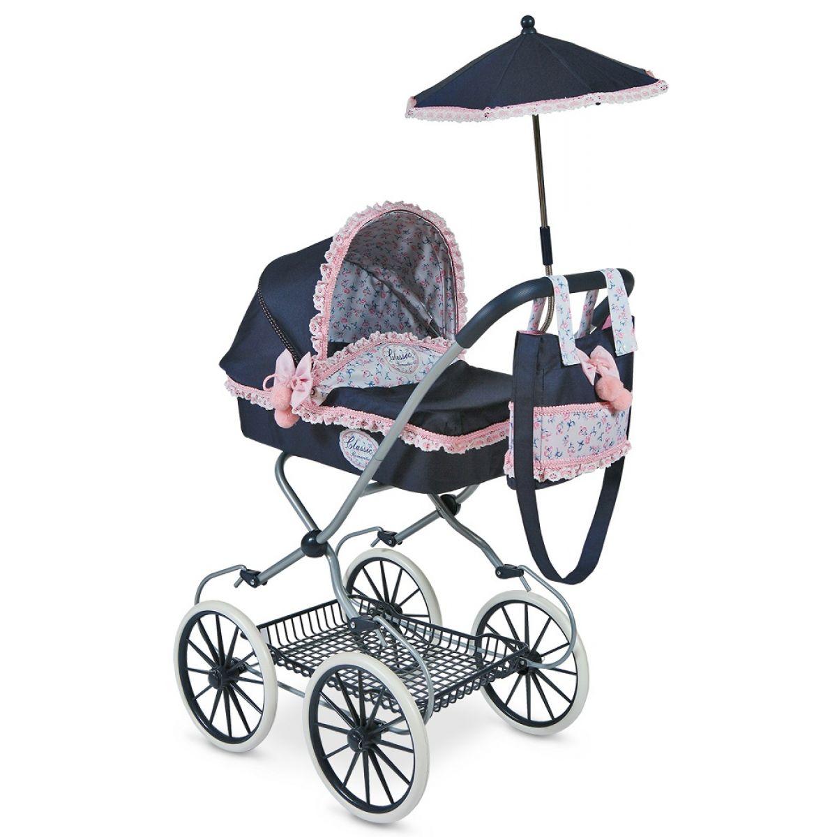 DeCeuvas Toys hlboký s dáždnikom Clasic Romantic