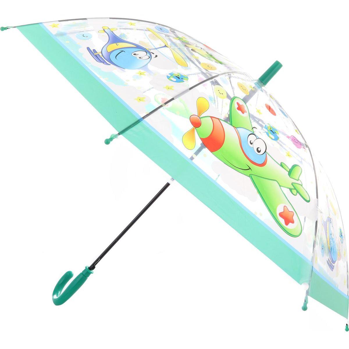 Dáždnik dopravné prostriedky vystreľovací zelený