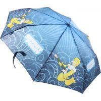 Deštník Simpsonovi skládací modrý 2