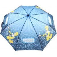 Deštník Simpsonovi skládací modrý 3