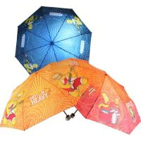 Deštník Simpsonovi skládací modrý 4