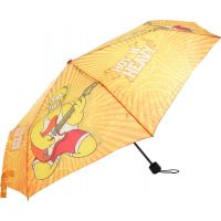 Deštník Simpsonovi skládací oranžový
