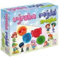 DetiArt Výroba mydla Smajlíci