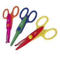 Easyoffice Detské nožničky dekoratívne 3 vzory