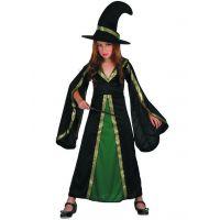 Made Detské šaty na karneval čarodejnica 120-130 cm