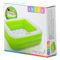 Intex 57100 Detský bazénik štvorec - Zelená 3