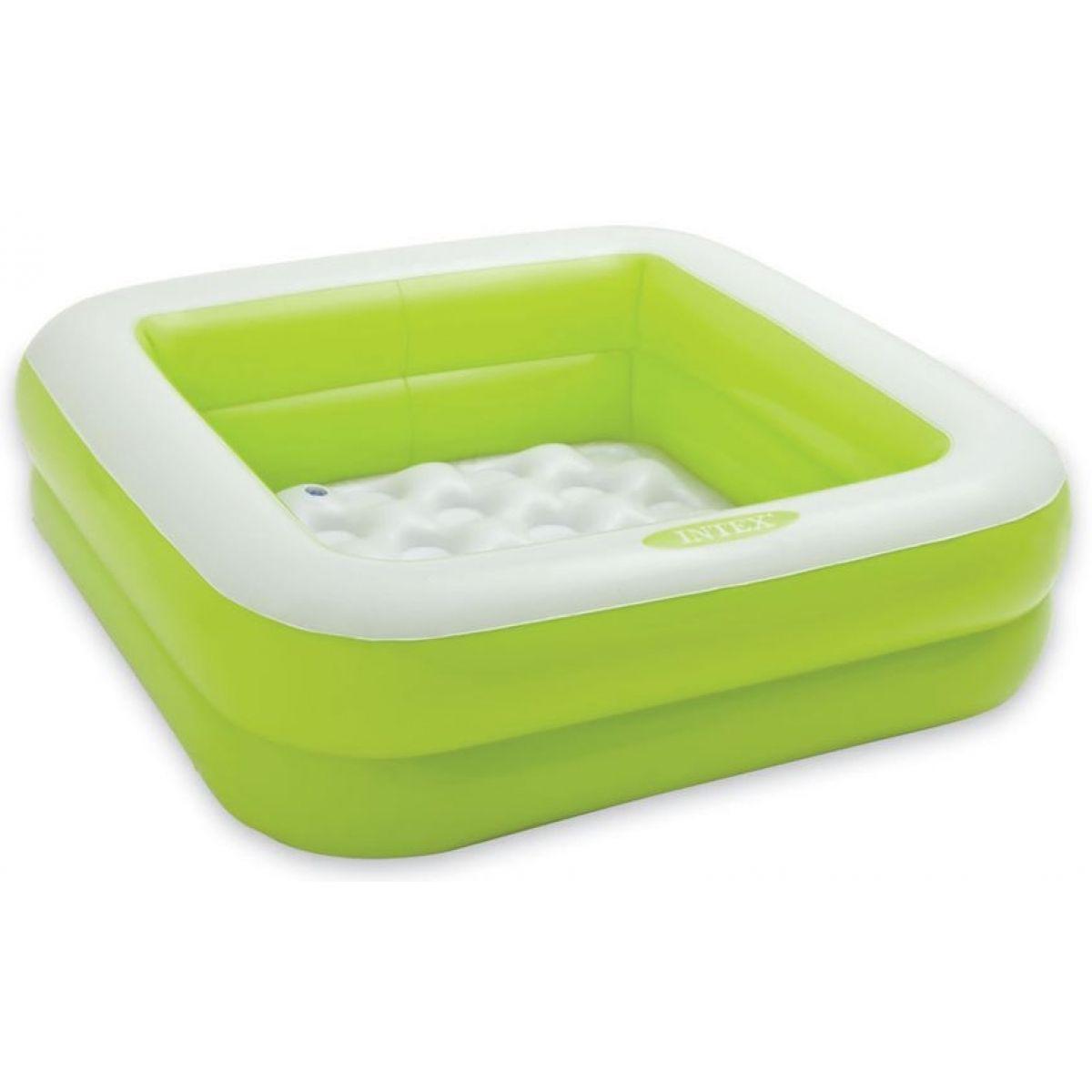 Intex 57100 Detský bazénik štvorec - Zelená