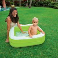 Intex 57100 Detský bazénik štvorec - Zelená 2