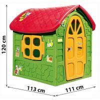 Detský domček na záhradu s obrázkami 2