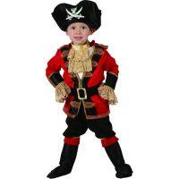 Made Detský karnevalový kostým Pirát 92-104 cm