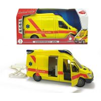 Dickie Ambulancia Van 34cm, česká verzia