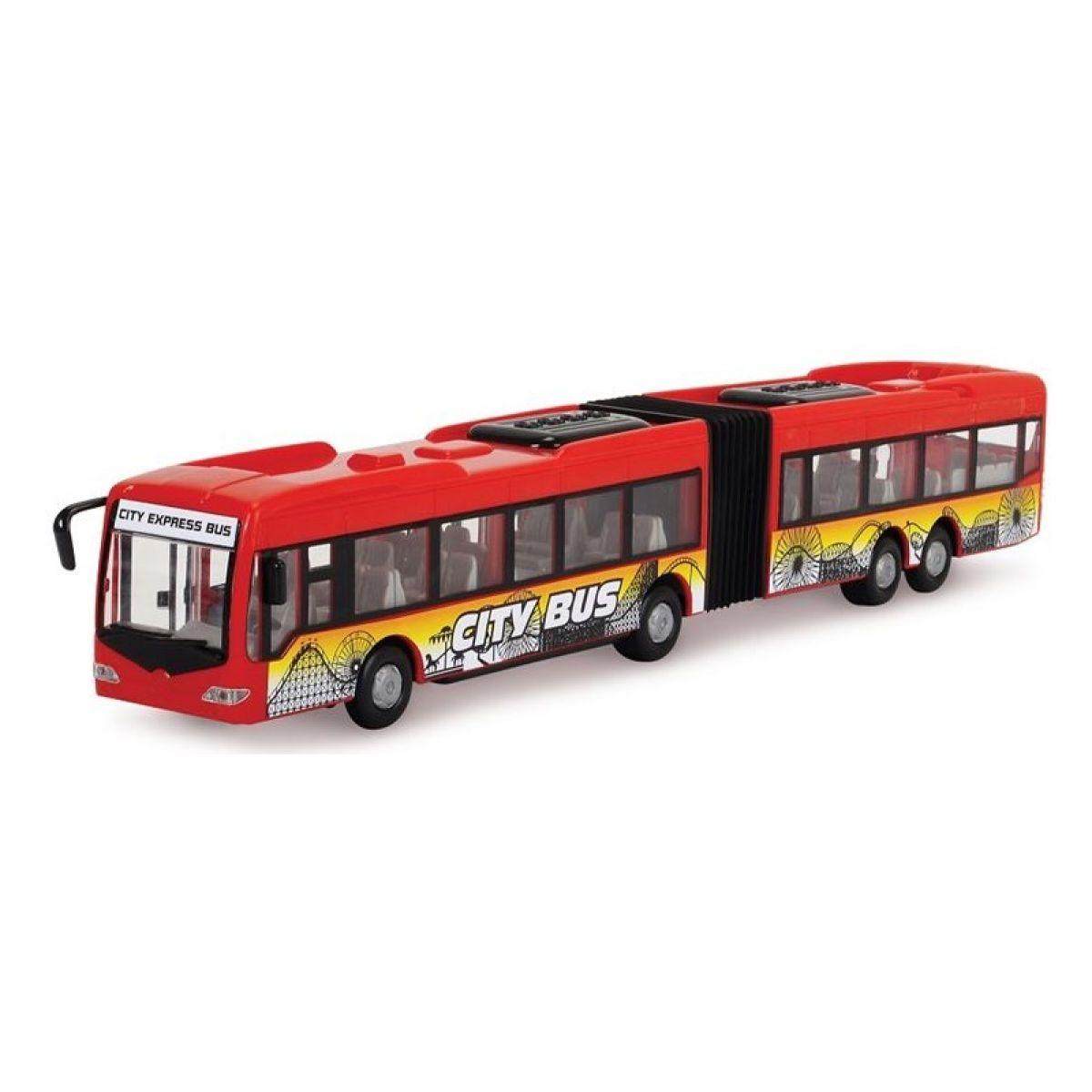 Dickie Autobus City Express Bus Červená
