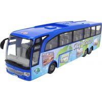 Dickie Autobus Touring Bus 30 cm modrý