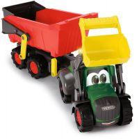 Dickie Happy Traktor s prívesom 65 cm 2