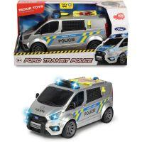 Dickie Policajné auto Ford Transit česká verzia