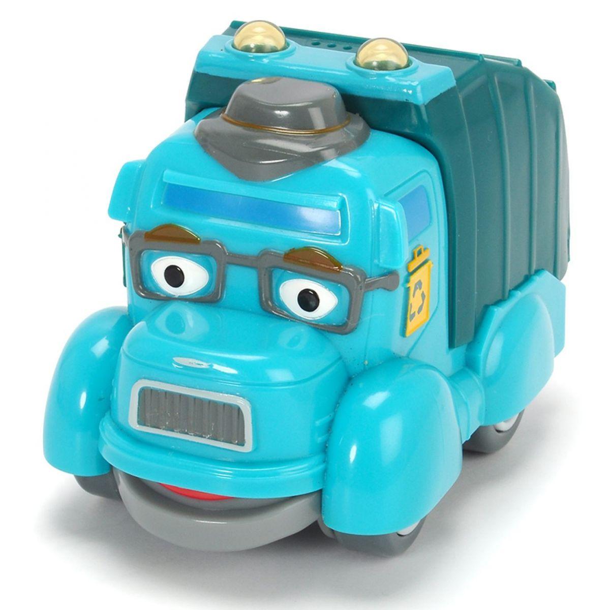 Dickie Statečná autíčka Čestmír Čistič popelářské auto