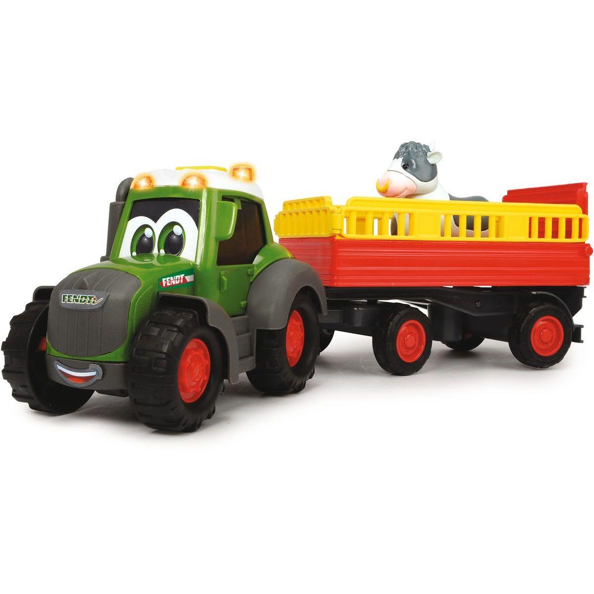 Dickie Traktor Happy Fendt s prívesom 30 cm