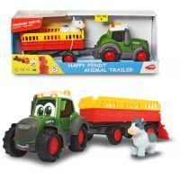 Dickie Traktor Happy Fendt s prívesom 30 cm 4