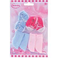 Dimian Doplňky pro panenky Bambolina botičky a ponožky