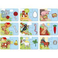 Dino 9 x 2 dílky Zvířátka BABY pro miminko 2
