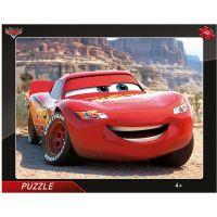 Dino Cars Blesk McQueen deskové puzzle 40 dílků