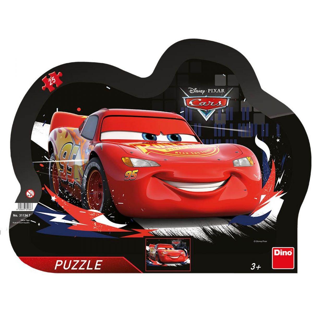 Dino Cars Súboj doskové puzzle 25 dielikov