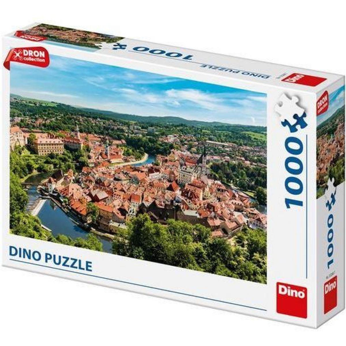 Dino Český Krumlov Dron Collection puzzle 1000 dielikov