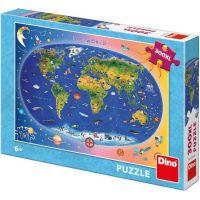 Dino Dětská Mapa 300 XL puzzle