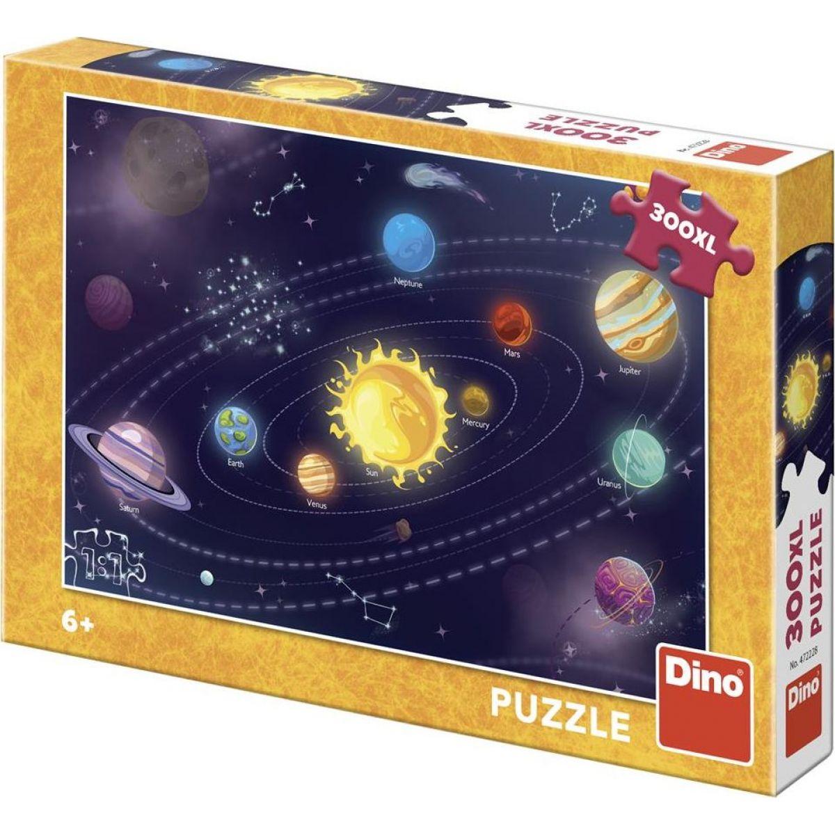 Dino Detská slnečná sústava 300 dielikov XL puzzle