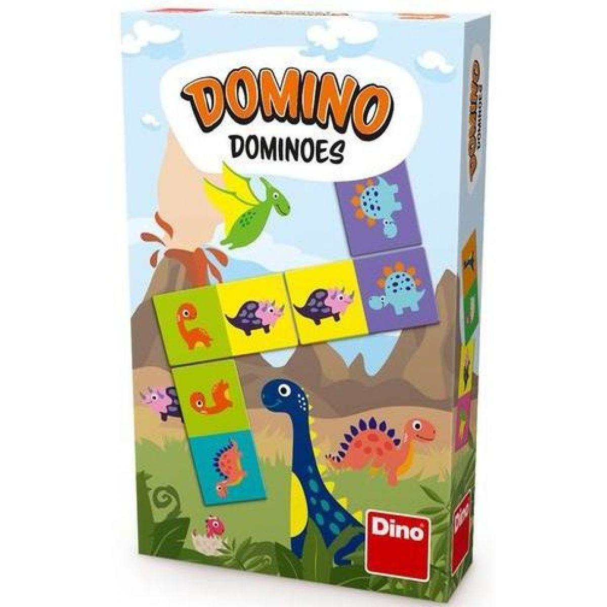 Dino Dinosaury Domino