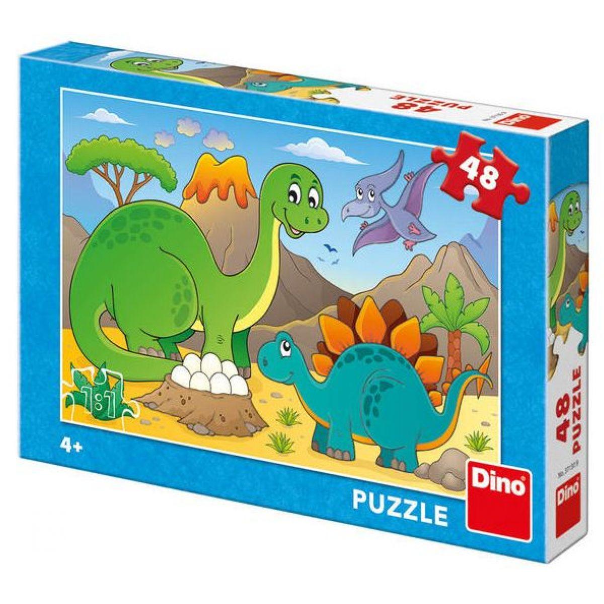Dino Puzzle Dinosaury 48 dielikov
