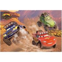 Dino Disney Cars Puzzle Off Road 66 dielikov 2
