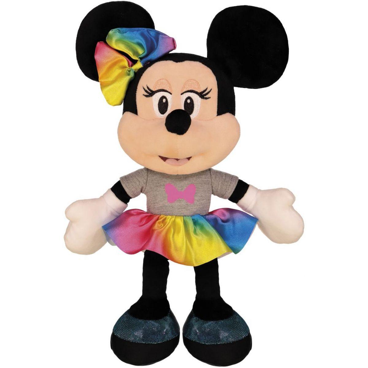 Dino Disney Minnie dúhová sukne 25 cm plyš