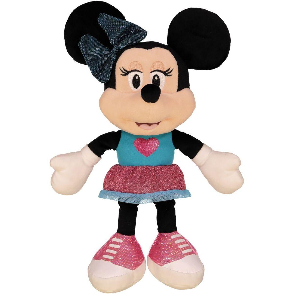 Dino Disney Minnie modro-ružové šaty 25 cm plyš