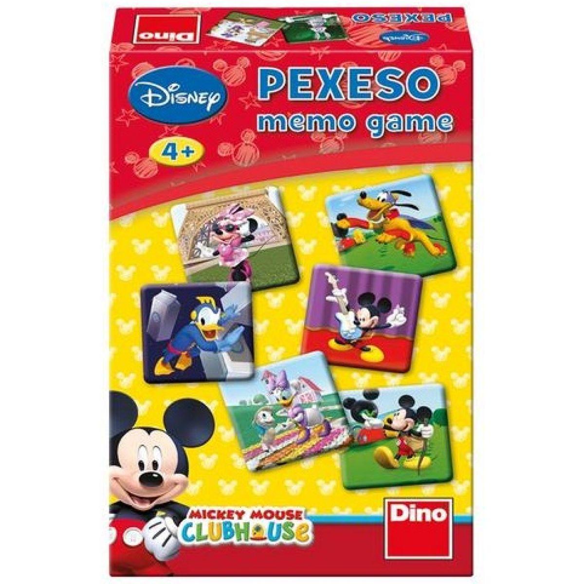 Dino Pexeso: Mickeyho klubík