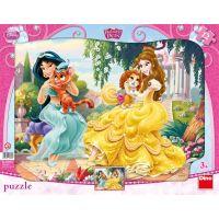 DINO s tvary 12 dílků Princezny a mazlíčci