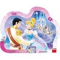Dino Walt Disney Zamilovaná Popoluška 25 dílků